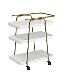 Stylaire 3 Tier Serving Cart