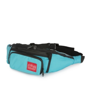 Manhattan Portage Packable Alleycat Waist Bag In Turquoise