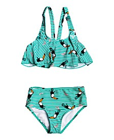 Roxy Little Girl Birds Flutter Two Piece Set