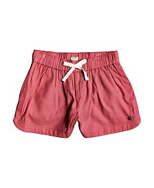 Roxy Toddler Girl Una Mattina Front Tie Shorts