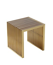 Pangea Home Brushed Luxe Stool