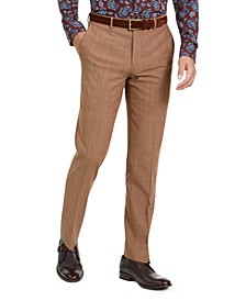 Men's Slim-Fit Active Stretch Performance Gold Suit Separate Pants, Created for Macy's
