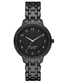 Women's Morningside Black Stainless Steel Bracelet Watch 38mm