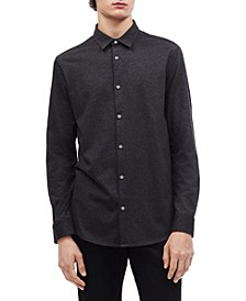 Men's Slim-Fit French Placket Shirt