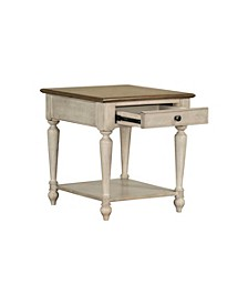 Montgomery Light End Table, Quick Ship