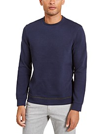 Men's Classic-Fit Tipped Sweatshirt, Created for Macy's