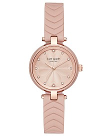 Kate Spade New York Women's Annadale Vellum Leather Strap Watch 30mm