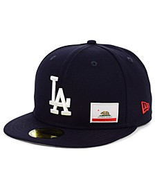 Los Angeles Dodgers Flag Day State 59FIFTY Cap