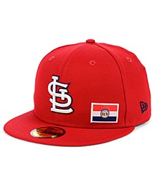 St. Louis Cardinals Flag Day City 59FIFTY Cap