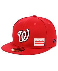New Era Washington Nationals Flag Day State 59FIFTY Cap