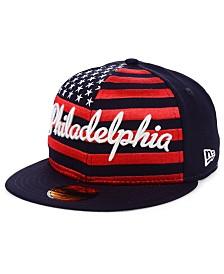 New Era Philadelphia Phillies Retro Big Flag 59FIFTY Cap
