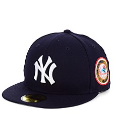 New Era New York Yankees World Series Patch 59FIFTY Fitted Cap