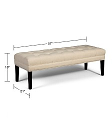 Abby Upholstered Bench