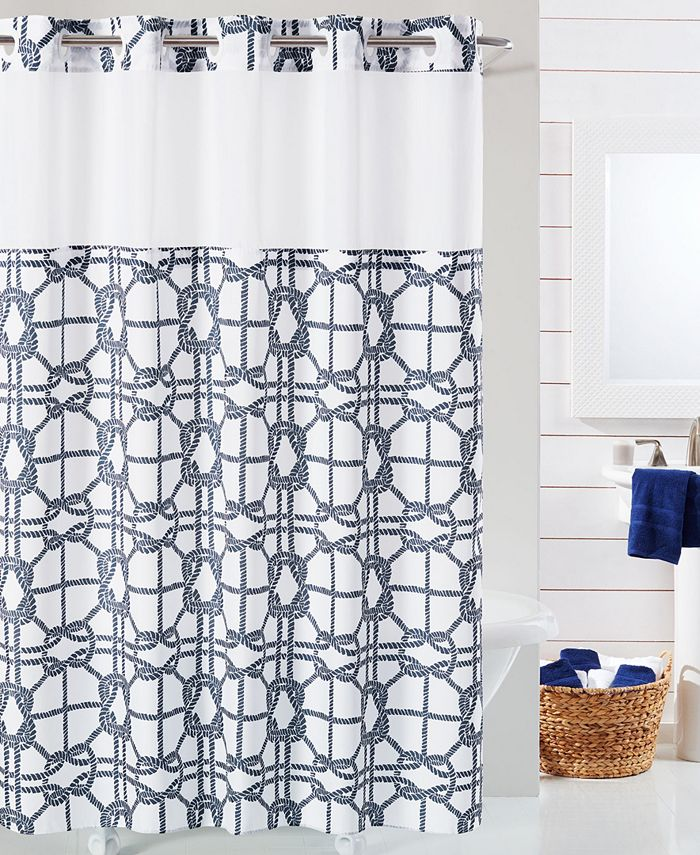 Hookless - Nautical Shower Curtain