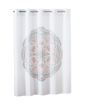 Hookless Henna Medallion Shower Curtain Bedding