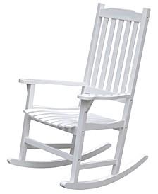 Wooden Indoor/Outdoor Patio Deck Garden Porch Rocking Chair