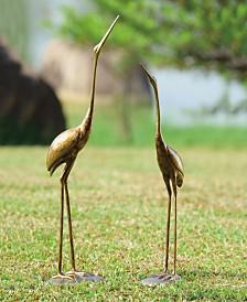 SPI Home Crane Sculpture, Pair