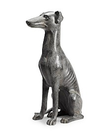 SPI Home Loyal Grayhound Sculpture
