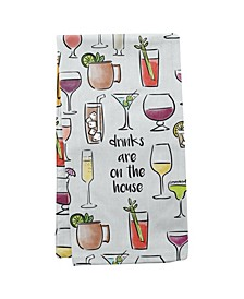 Tea Towels, Wine