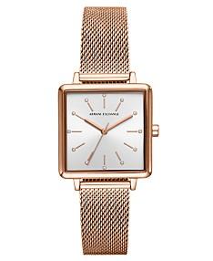 73c3cee5 Armani Exchange Watches - Macy's