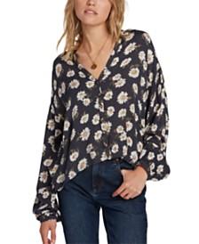 Volcom Juniors' Floral-Print Shirt