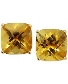 Citrine Stud Earrings (5 ct. t.w.) in 14k Gold