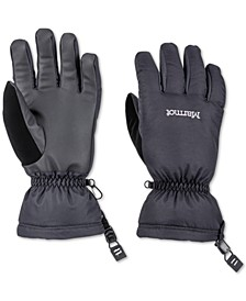 Men's On Piste Black Gloves