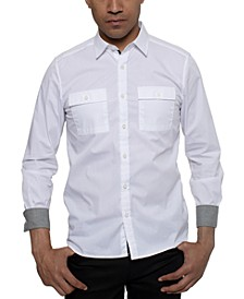 Men's Two Pocket Solid Shirt