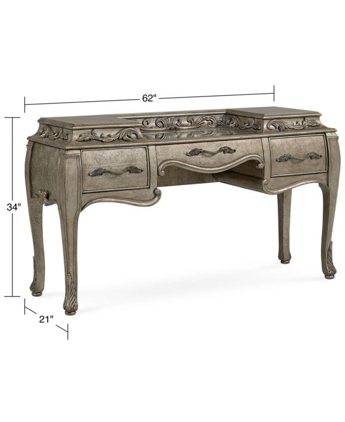 Furniture Zarina Vanity & Reviews - Furniture - Macy's