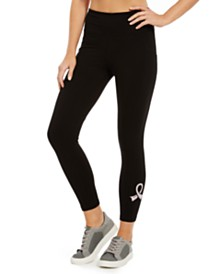 Ideology Breast Cancer Logo Leggings, Created for Macy's