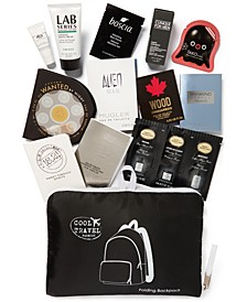 Choose your FREE Packable Travel Backpack with 11pc. Sampler with any Men's Cologne or Grooming purchase of $85 or more