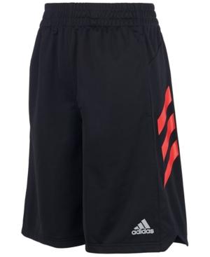 adidas Big Boys Angled 3- Stripes Shorts