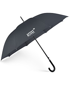 Receive a Complimentary Umbrella with any large spray purchase from the Montblanc Men's fragrance collection