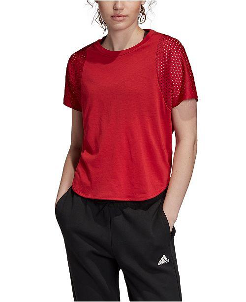 adidas Women's ID Mesh T-Shirt