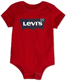Levi's® Baby Boys Logo-Print Cotton Bodysuit
