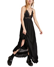 Adella Lace Maxi Dress