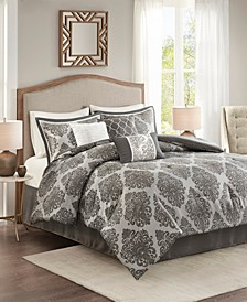 Lawson 7-Pc. Jacquard Comforter Sets