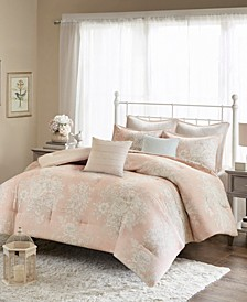 Gloria 7-Pc. Cotton Printed Comforter Sets