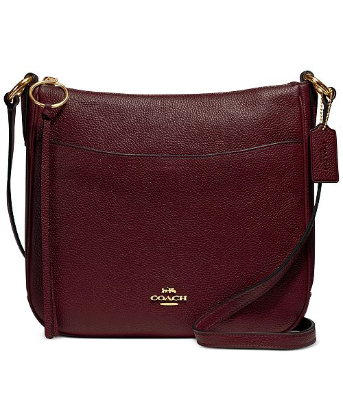 Coach Chaise Crossbody In Polished