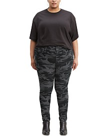 Levi's® Plus Size High-Rise Printed Skinny Pants