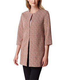 Tahari ASL Knit Topper Jacket
