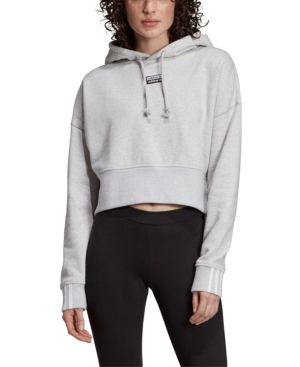 Womens Vocal Cropped Sweatshirt