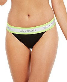 Calvin Klein Women's Neon High-Cut Bikini Underwear QF5571, First At Macy's