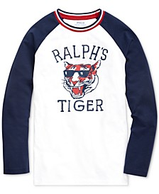 Big Boys Basic Jersey Baseball T-Shirt