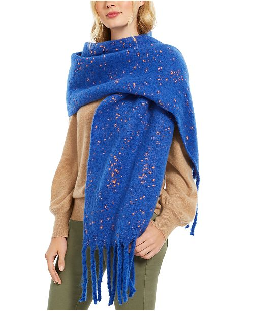 DKNY Pop-Neon Speckled Scarf