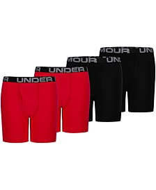 Big Boys 4-Pk. Boxer Briefs