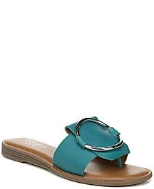 Franco Sarto Gretel Leather Sandals