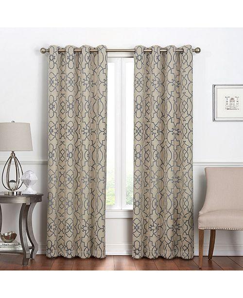 Regal Home Villa Blackout Grommet Curtain