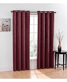 Regal Home Chevron Blackout Grommet Curtain