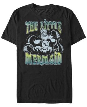 Disney Men's The Little Mermaid Ursula Sea Short Sleeve T-Shirt